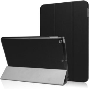 Funda Tablet Tipo Smart Cover iPad 9.7 2017 2018 A1854 A1823 Negro