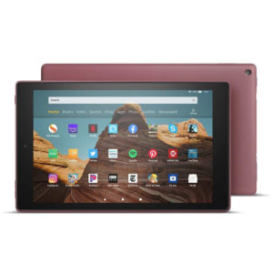 Tablet Amazon Fire Hd 10 32Gb 2019 Alexa Plum + Cargador