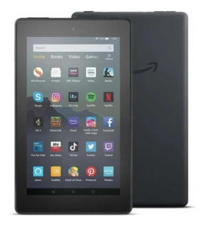 Tablet Amazon Fire 7 2019 Kfmuwi 7 16gb Black Con Memoria Ram 1gb