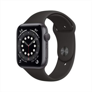 Apple Watch Serie 6 Gps 44 Mm Black Sport Band