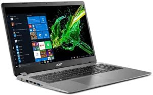 Notebook Acer Aspire 3 15.6″ i5 8GB, 256GB SSD, Intel FHD Graphics W10 Black