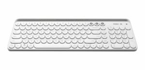 Teclado Inalámbrico Dual Mode Miiw Bluetooth O Usb Blanco