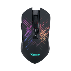 Mouse Gamer Usb Led Rgb 4800 Dpi Xtrike Me Gm-510 7 Botones