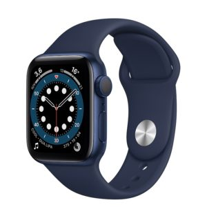 Apple Watch Serie 6 Gps 40 Mm Blue Aluminum Sport Band Deep