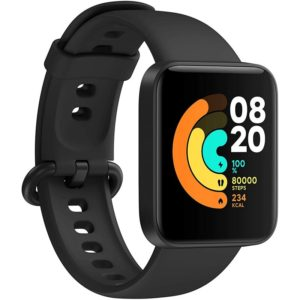 Smartwatch Reloj Inteligente Xiaomi Mi Watch Lite Black Gps