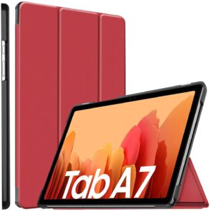 Funda Smart Cover Tablet Samsung Tab A7 10.4 T500 T505 Rojo